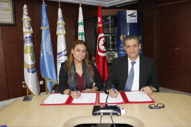 Signature d'une convention de partenariat stratégique entre la Poste Tunisienne et Lycamobile Tunisie