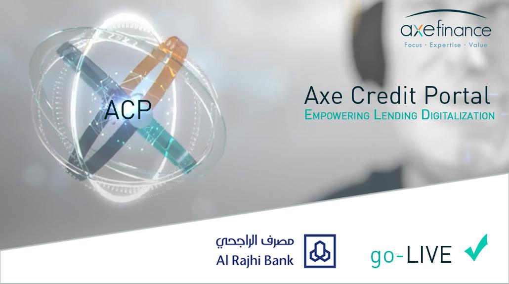 AL RAJHI BANK s'allie à AXE FINANCE, partenaire de Smart Tunisia, pour implémenter une nouvelle solution technologique de Crédits Entreprises.