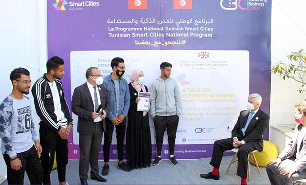 L'ambassadeur Oakden à la rencontre des startupeurs de Bizerte