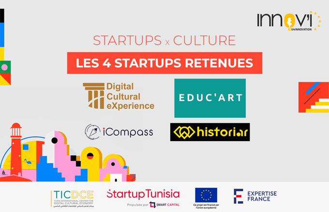 Appel à initiatives : Innov'i – EU4Innovation soutient 4 startups pour la valorisation de la culture et du patrimoine de Djerba