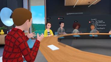 On a testé… Horizon Workrooms, la nouvelle application de réalité virtuelle de Facebook