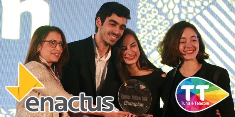 Tunisie Télécom et Enactus Tunisie: Un partenariat stratégique fort pour le changement sociétal et économique